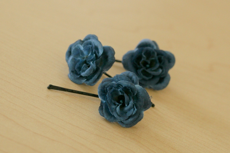 Silk Flower Hair Clip