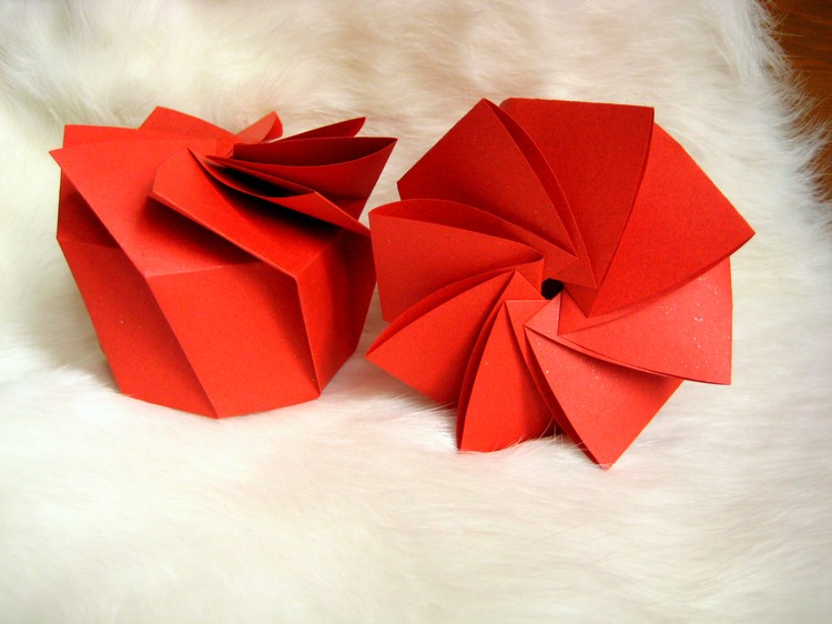 boite origami sakarton. Black Bedroom Furniture Sets. Home Design Ideas