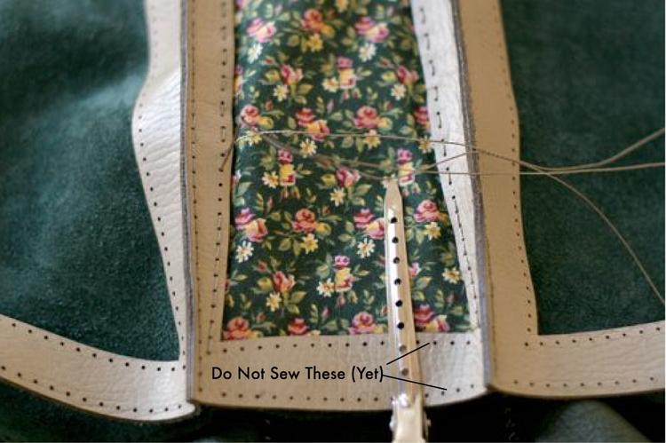 Lined Shoulder Bag Pattern 28