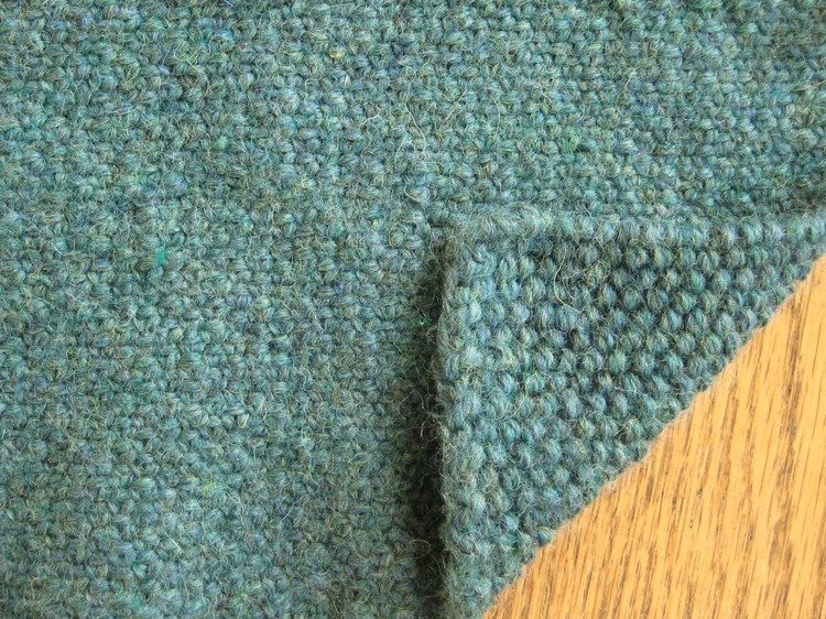 Unusual Knitting Techniques : Linen stitch how did you make this luxe diy