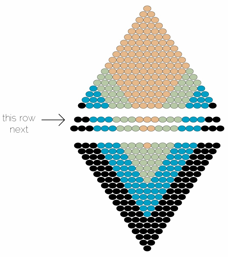 Beaded Diamond: Beaded Diamond Pendant - How Did You Make This?