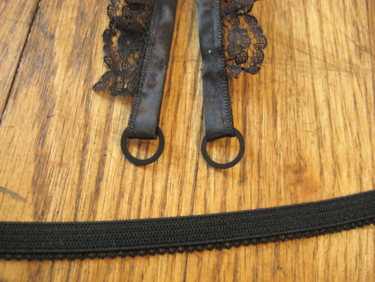 Handmade decorative bra straps
