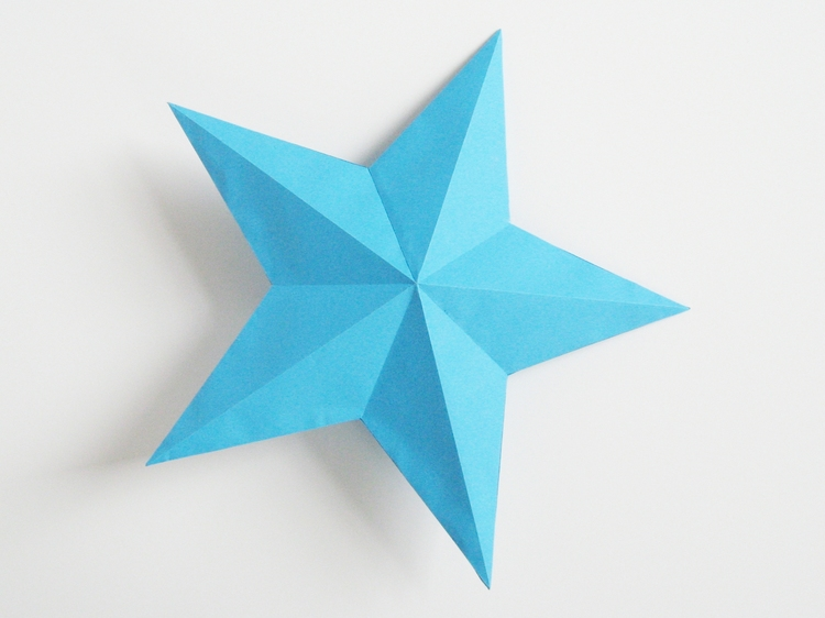 Paper Stars - Part 1 - How Did You Make This? | Luxe DIY