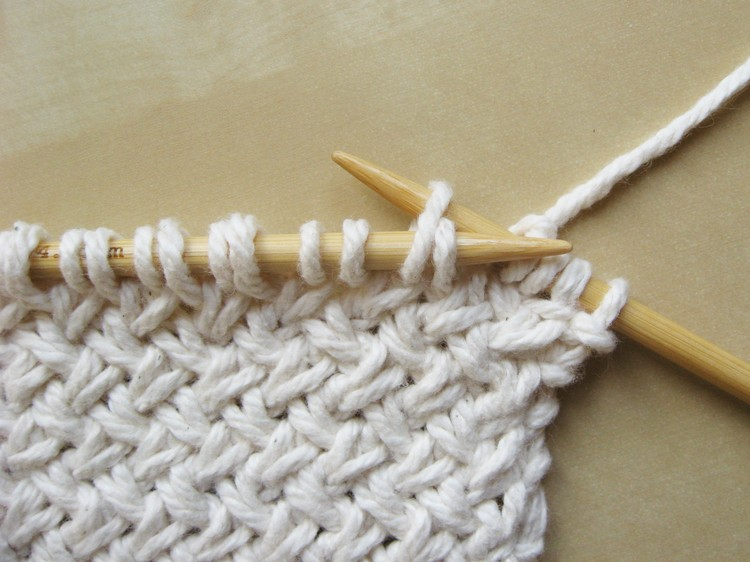 Knitting Stitches With One Needle : ...Sewing For Life...: DIAGONAL BASKETWEAVE KNITTING PATTERN