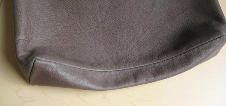 soft leather bag bottom
