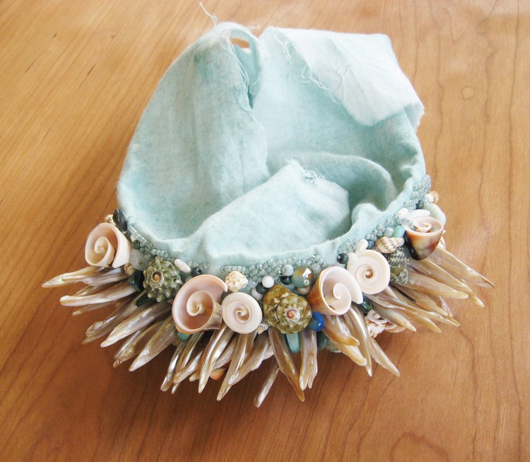 Seashell Beaded Headband