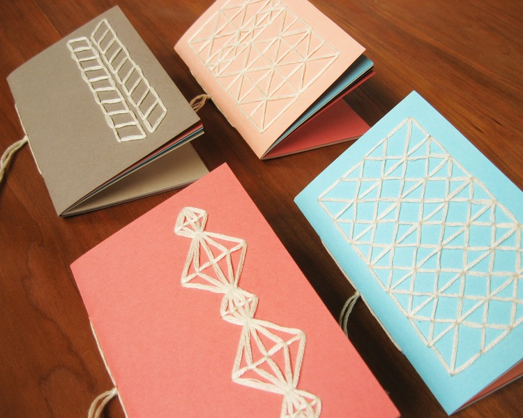 Notebooks With Stitched Covers