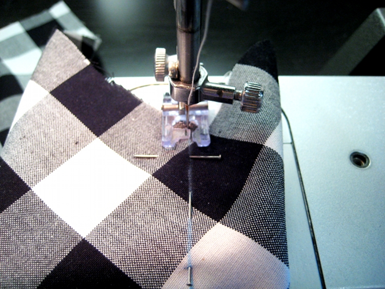 sewing a single point dart