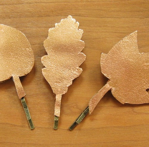 Fall Leaves Hair Pins