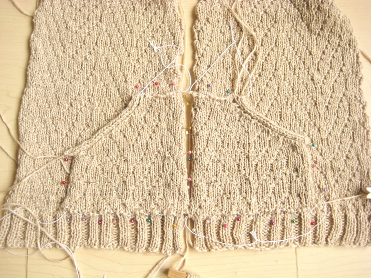 Grafting Stitches When Knitting : Grafting Knitting - How Did You Make This? Luxe DIY