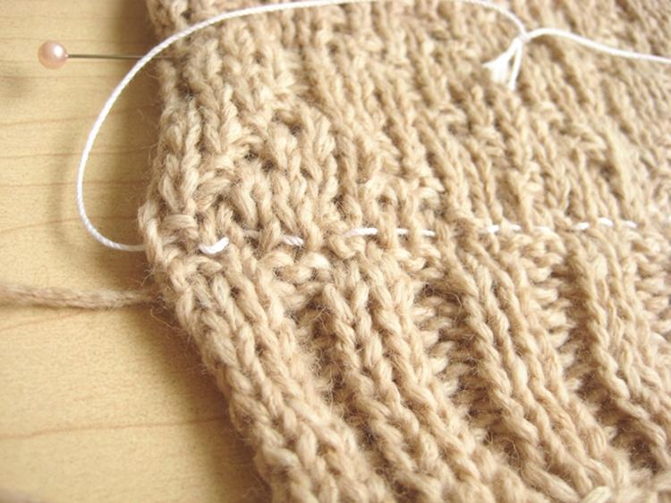 grafting knitting