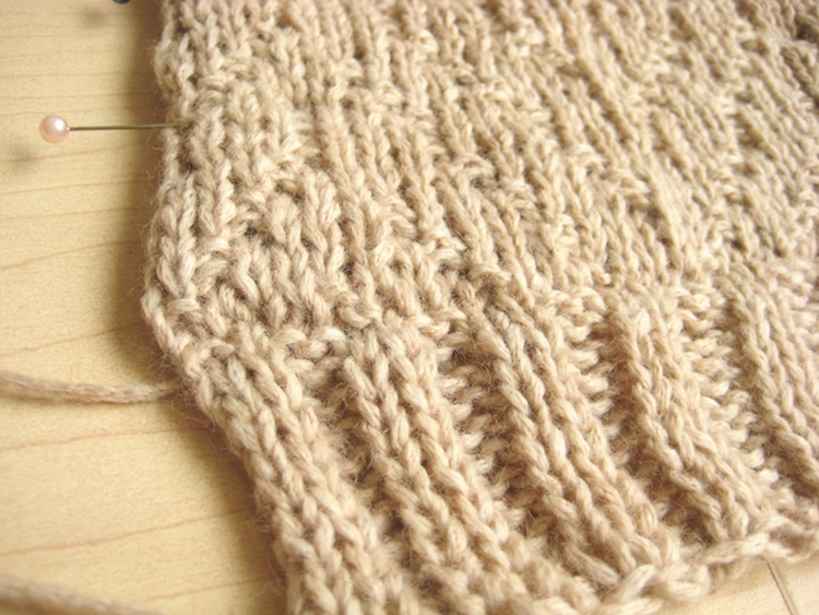 Grafting Knitting - How Did You Make This? Luxe DIY