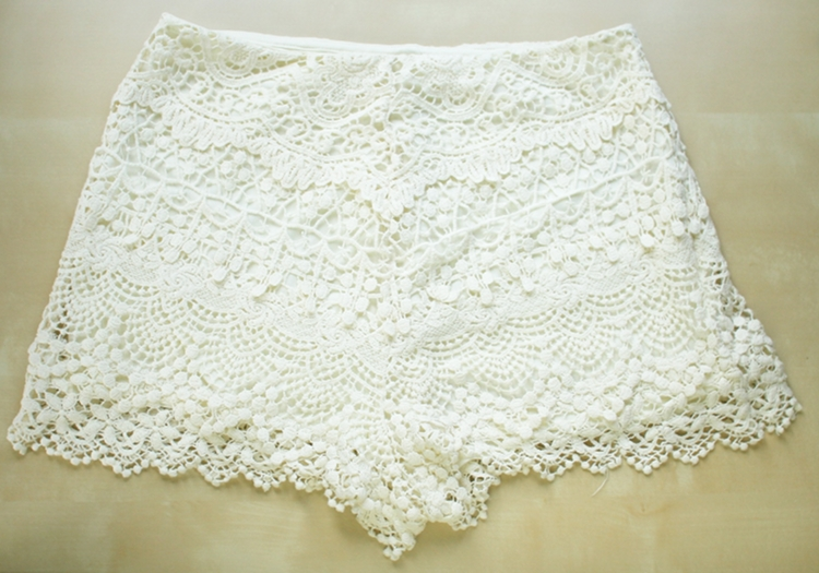 tailoring lace  after