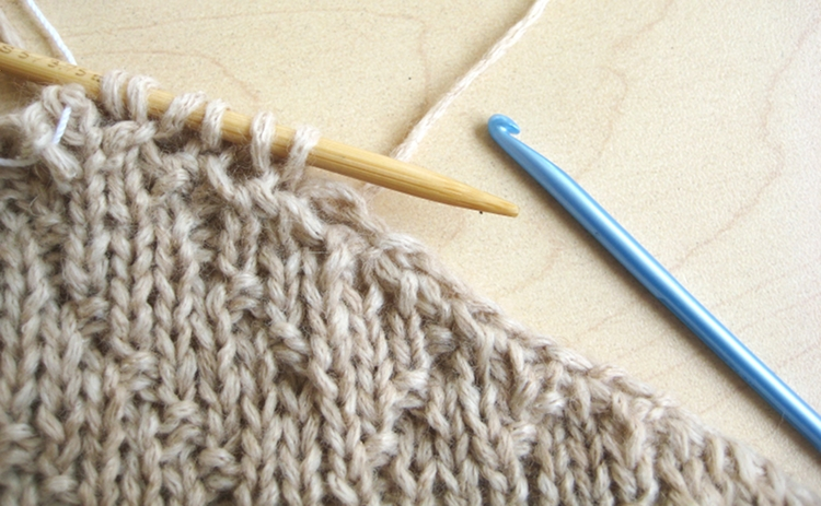 Knitting Pick Up Stitches With Crochet Hook : Picking Up Stitches How Did You Make This? Luxe DIY Bloglovin