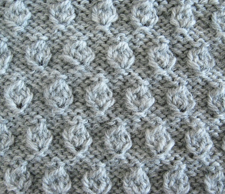 Adding New Stitches Knitting : Hazelnut Knitting Stitch - How Did You Make This? Luxe DIY