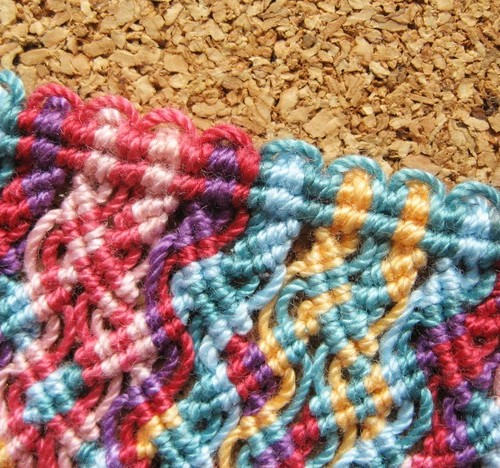 Picot Edge For Macrame