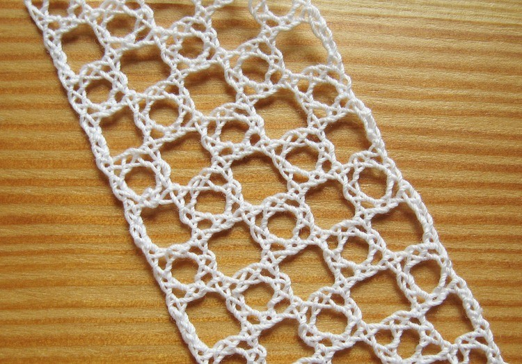 Bobbin Lace Virgin Ground or Rose Ground