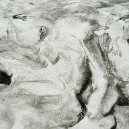 Faux Marble Fabric Painting