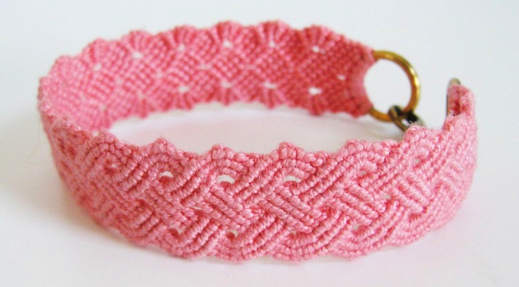 Seaside Plaited Macrame Bracelet Tutorial Download