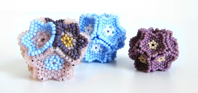 Flower Beaded Bead Tutorial Download