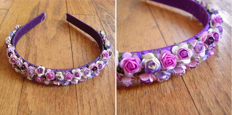 Flower headband tutorial how did you make this luxe diy flower headband mightylinksfo Images