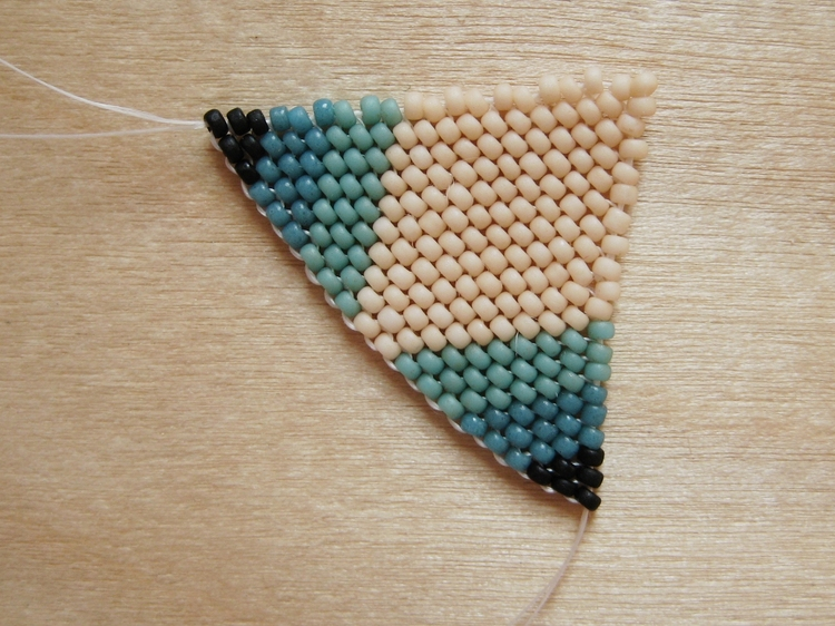Beaded diamond pendant how did you make this luxe diy aloadofball Image collections