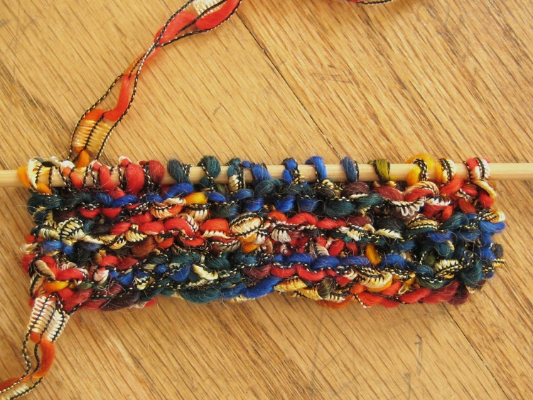 Knitting with Ribbon and Ladder Yarns - How Did You Make