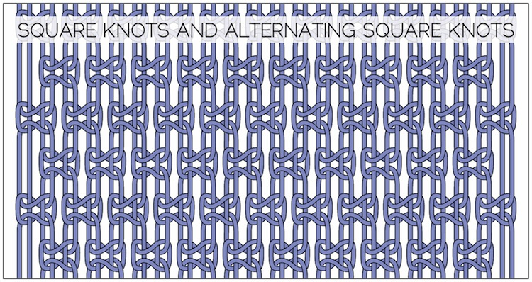 Square Knots And Alternating Square Knots How Did You