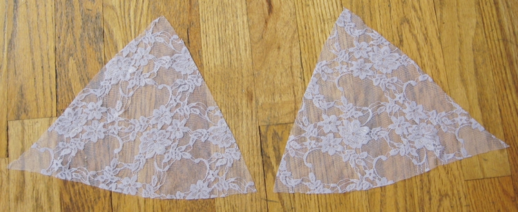 Sew A Lace And Satin Bra Top How Did You Make This Luxe Diy