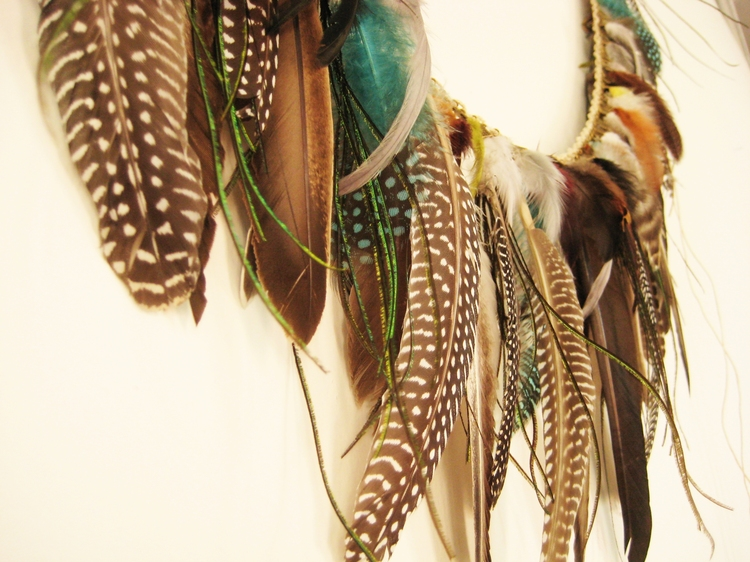 Feather Garland How Did You Make This Luxe Diy