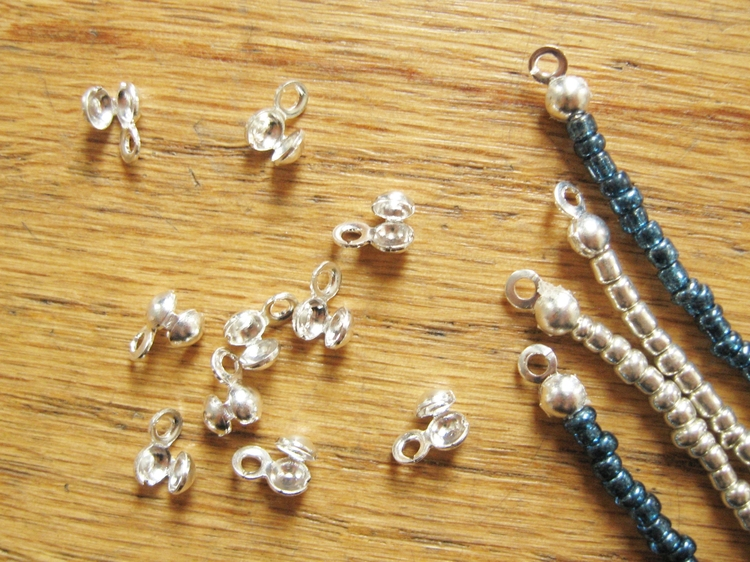 Finish Strings of Beads with Bead Tips - How Did You Make This? | Luxe DIY