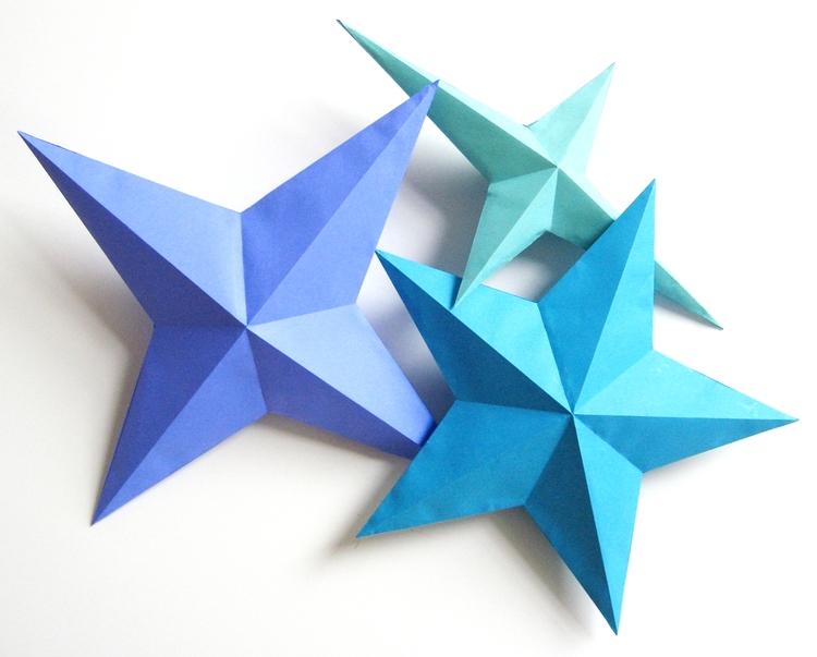 Easy DIY Paper Star Garland | 603x750