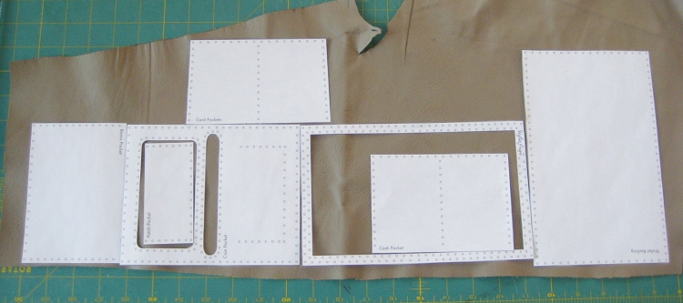 Fold In Half Wallet Cut Sew How Did You Make This Luxe DIY - Leather wallet template