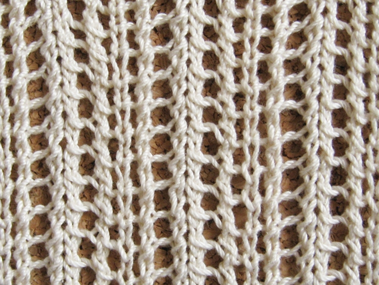 Knitting On The Net Stitches : Chevron layette v knitting pattern how did you make
