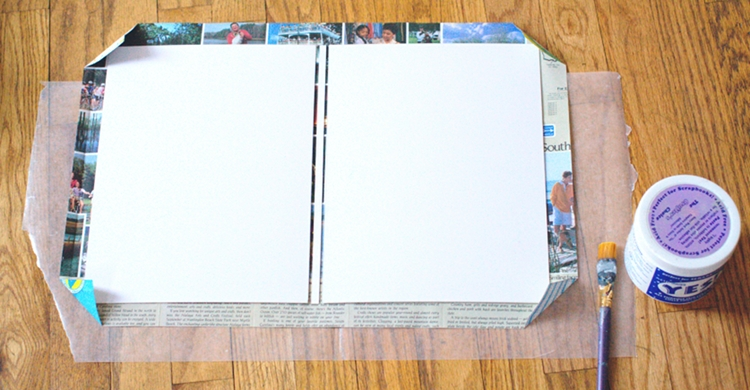 How To Make A Book Cover Hardcover ~ Diy book cover material do it your self