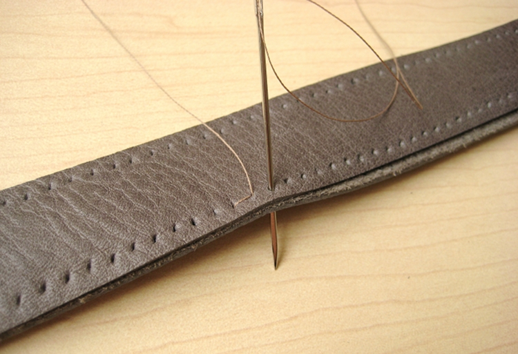leather bag strap