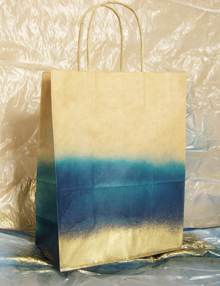 Ombre Gift Wrap