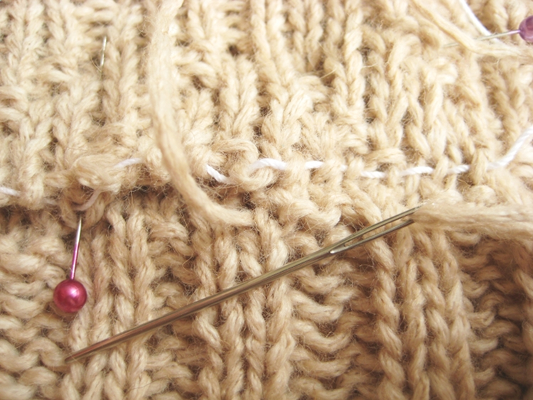 grafting knitting