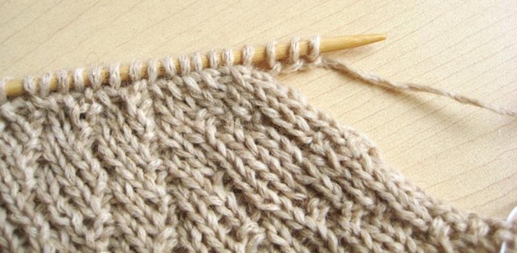 i-cord edge finish