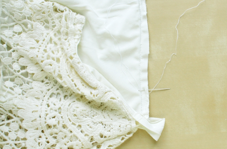tailoring lace