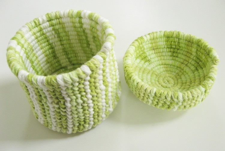 Knotted Rope Bowls