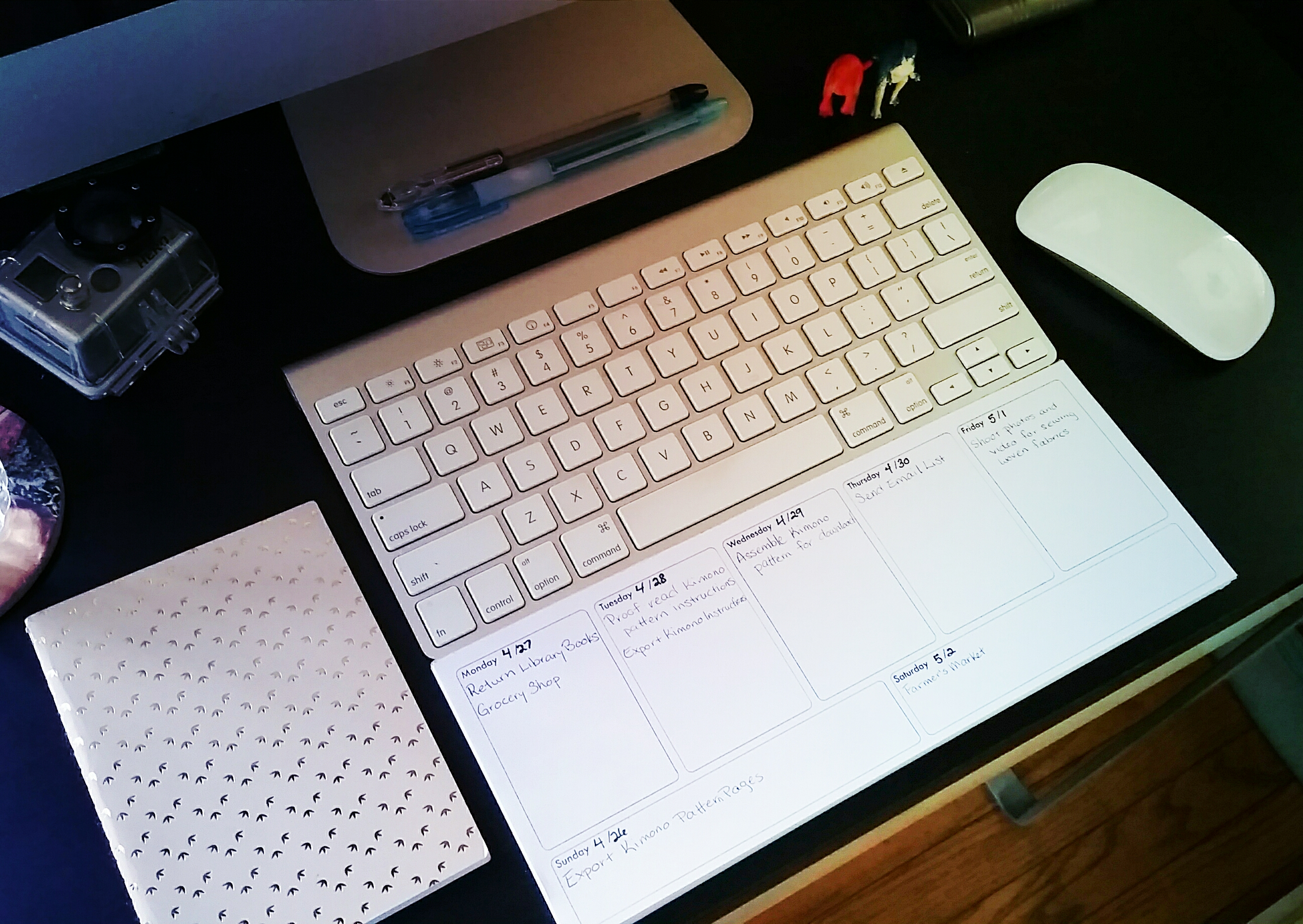 Diy Calendar App : Notepad desk calendar how did you make this luxe diy