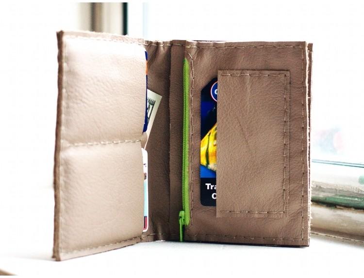 fold in half wallet