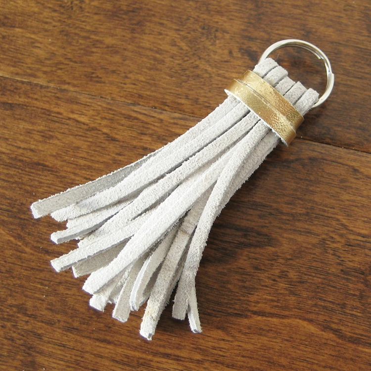 Easy Leather Tassel - How Did You Make This? | Luxe DIY