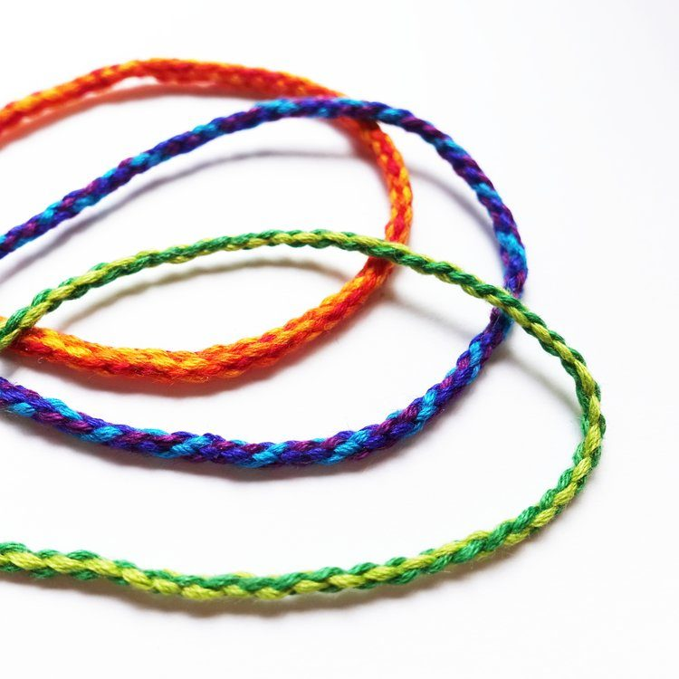4, 6, and 8 Strand Round Braids, Without a Kumihimo Disk