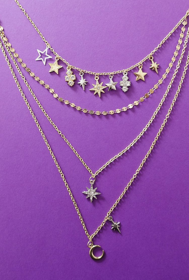 Starry Charm Necklace - How Did You Make This? | Luxe DIY